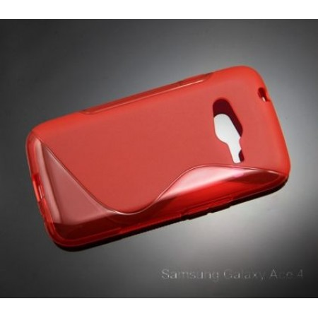 TPU Gel Silicone S line Case for Samsung Galaxy Ace 4 G313