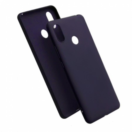 Blue TPU Gel Silicone Case for Xiaomi Mi A2 Lite (Redmi 6 Pro)