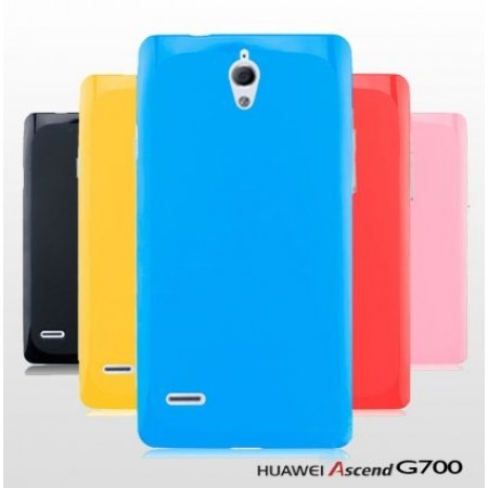 TPU Gel Silicone Case for Huawei Ascend G700
