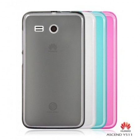 TPU Gel Silicone Case for Huawei Ascend Y511