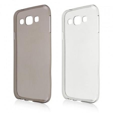 Silicone case glossy ultra slim for Samsung Galaxy J1 SM-J100F
