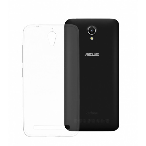 TPU Silicone Ultra Thin 100% clear Case for Asus Zenfone GO ZC500TG