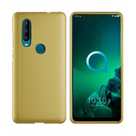 TPU Silicone Case for Alcatel 3X 2019 5048Y - gold matte