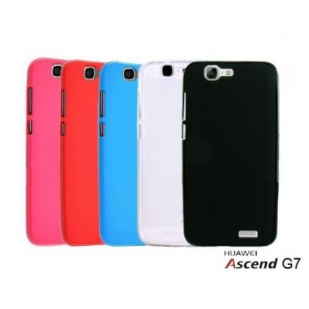 TPU Gel Silicone Case for Huawei Ascend G7