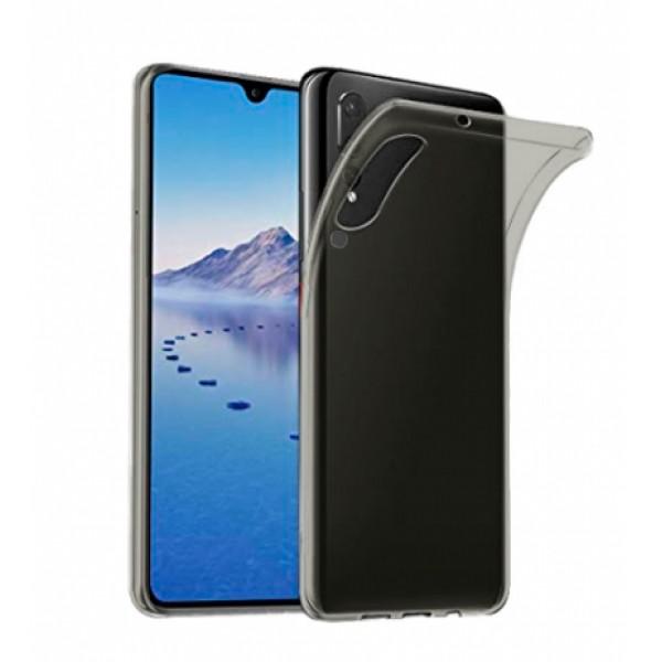 TPU Silicone Case for Huawei P30   ELE-L09 / ELE-L29 - transperant dark