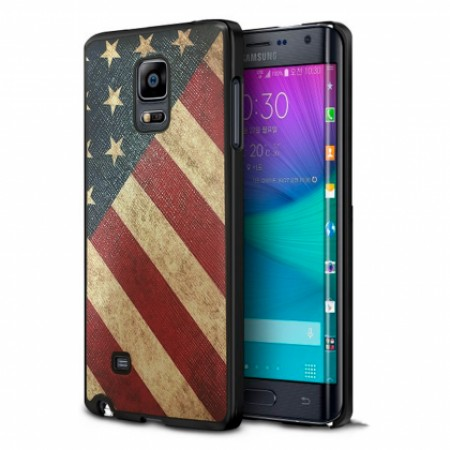 MY COLORS CASE print USA Flag for Samsung Galaxy Note Edge N915F