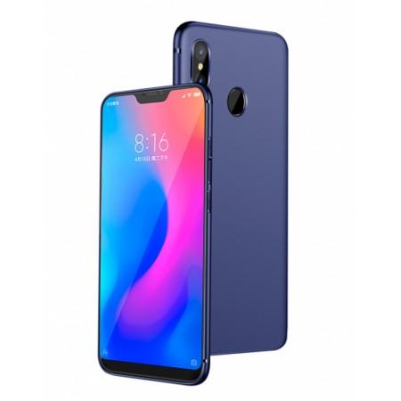 Blue Silicone Case for Xiaomi Mi A2 Lite (Redmi 6 Pro)