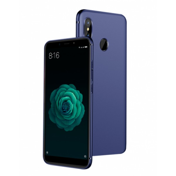 Blue Silicone Case for Xiaomi Mi A2 (Mi 6X)
