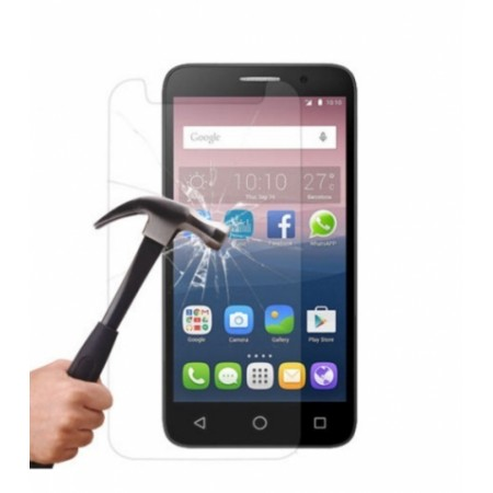 Impact resistant glass screen protector for ALCATEL ONE TOUCH POP 3 5\'