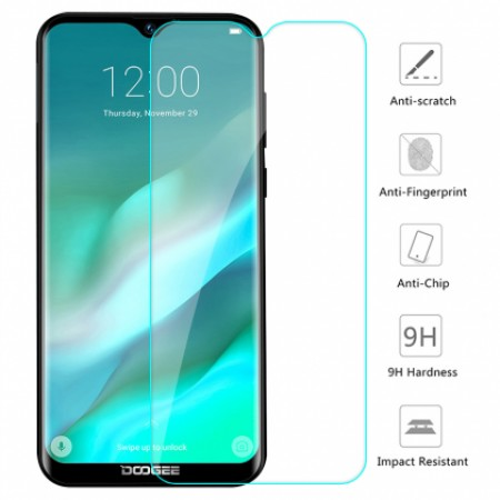 Impact resistant glass screen protector for DOOGEE Y8