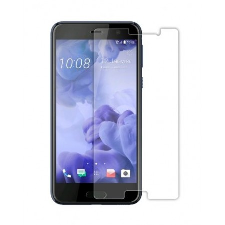 Impact resistant glass screen protector for HTC U11