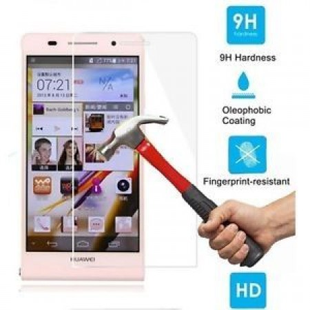 Impact resistant glass screen protector for Huawei G6
