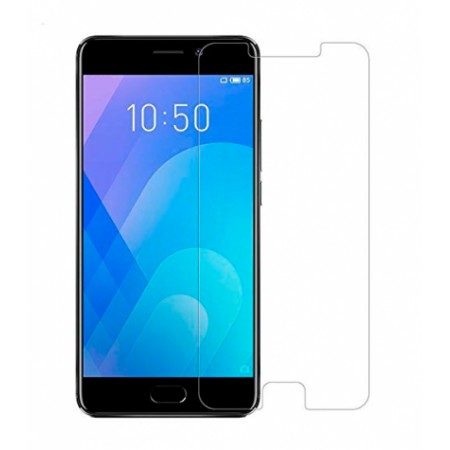 Impact resistant glass screen protector for Meizu M6