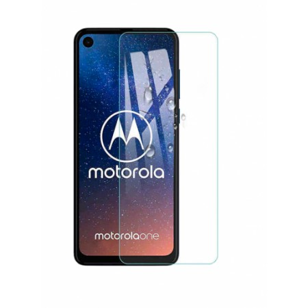 Impact resistant glass screen protector for Motorola One Action
