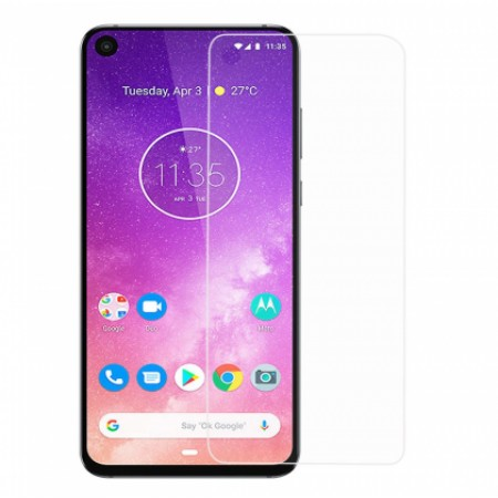 Impact resistant glass screen protector for Motorola One Vision