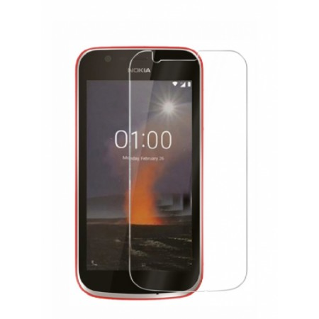 Impact resistant glass screen protector for Nokia 1