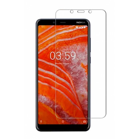 Impact resistant glass screen protector for Nokia 3.1 Plus