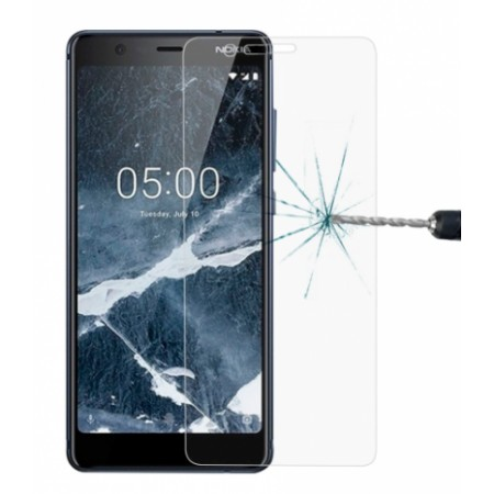 Impact resistant glass screen protector for Nokia 5.1