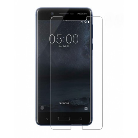 Impact resistant glass screen protector for Nokia 5 TA-1053