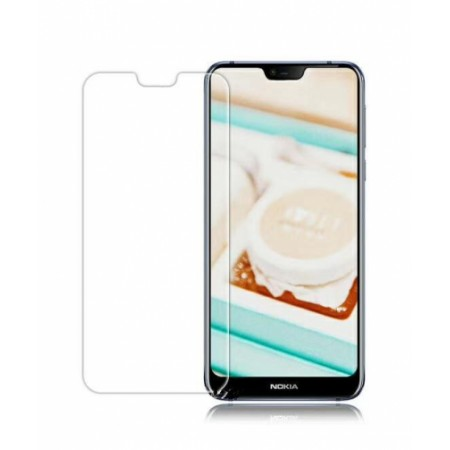 Impact resistant glass screen protector for Nokia 7.1