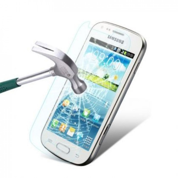 Impact resistant glass screen protector for Samsung Galaxy S Duos S7562