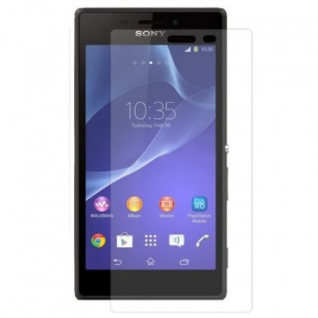 Impact resistant glass screen protector for Sony Xperia M2