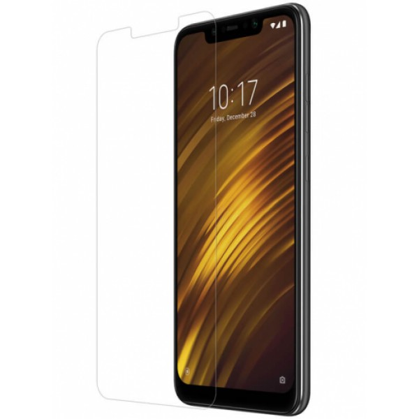 Impact resistant glass screen protector for Xiaomi Pocophone F1