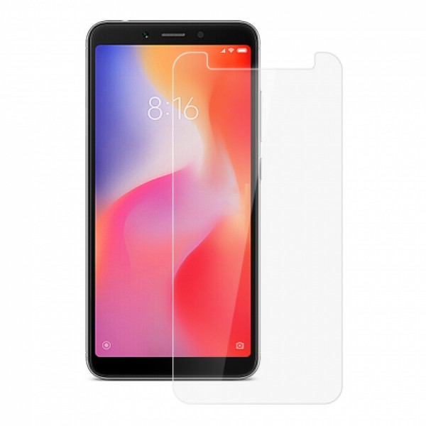 Impact resistant glass screen protector for Xiaomi Redmi 6 / 6A