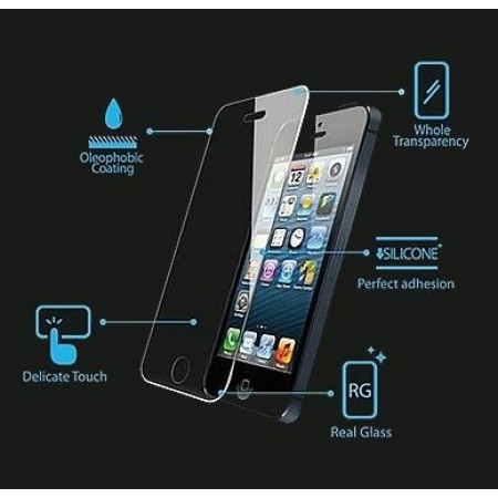 Impact resistant glass screen protector for iPhone 4 / 4S