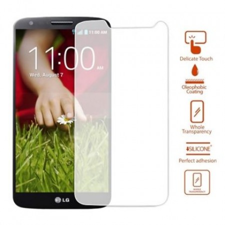 Impact resistant glass screen protector for LG G2