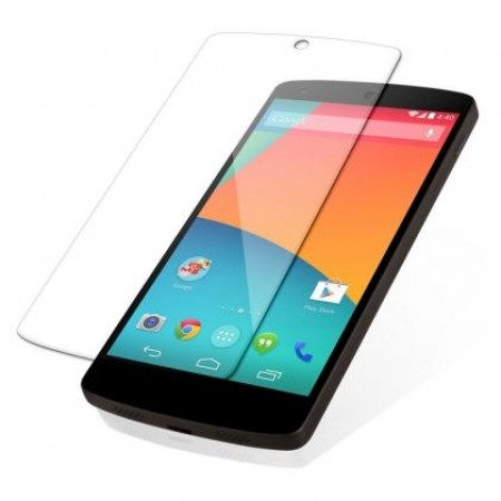 Impact resistant glass screen protector for LG Nexus 5X