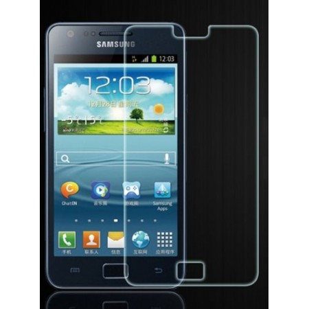 Impact resistant glass screen protector for Samsung I9100 Galaxy S II / I9105 Galaxy S II Plus