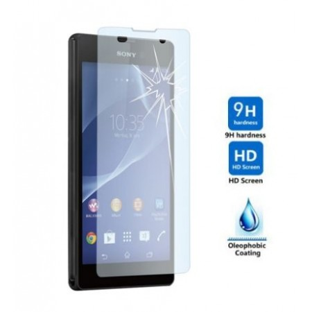 Impact resistant glass screen protector for Sony Xperia T3