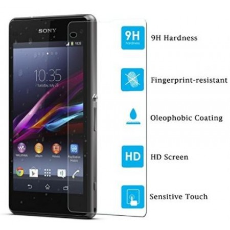 Impact resistant glass screen protector for Sony Xperia Z1 Compact D5503