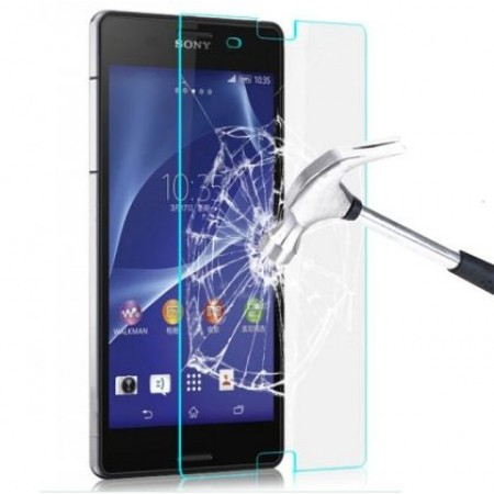 Impact resistant glass screen protector for Sony Xperia Z5