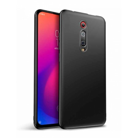 TPU Silicone Case for Xiaomi Redmi K20 Pro - black matt