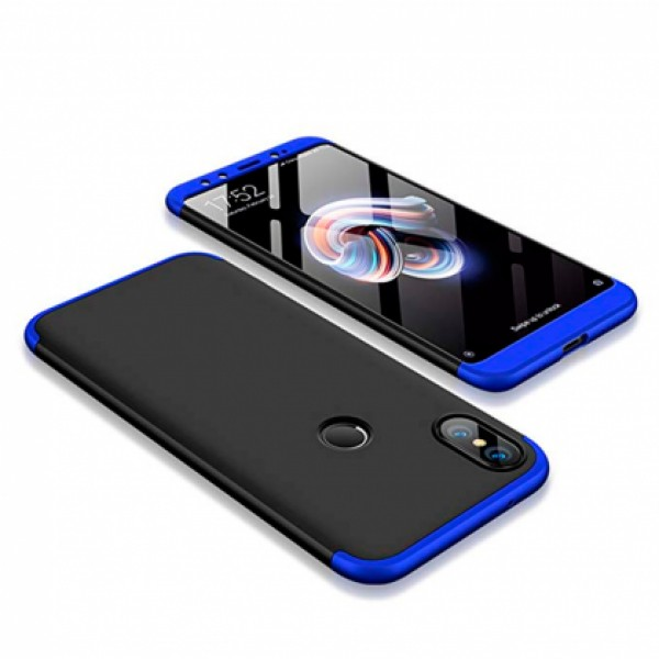 360* Black / Blue GKK Case for Xiaomi Mi A2 (Mi 6X)