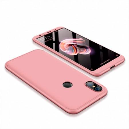 360* Pink GKK Case for Xiaomi Mi A2 (Mi 6X)