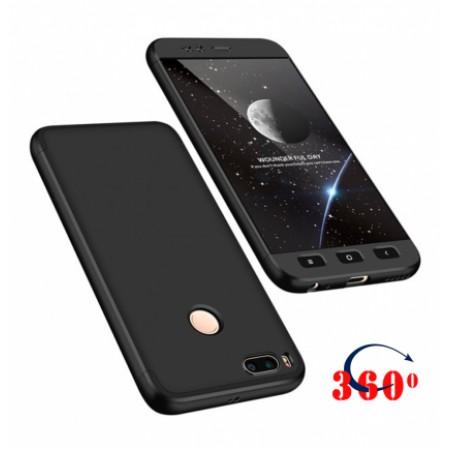 360* Black Case for Xiaomi Mi A1  /  Mi 5X
