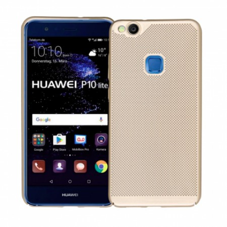Gold Hard back Honeycomb for Huawei P10 lite