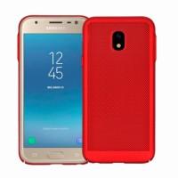 Red Hard back Honeycomb for Samsung Galaxy J3 (2017) J330F
