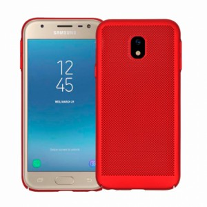 Red Hard back Honeycomb for Samsung Galaxy J3 (2017) J330F