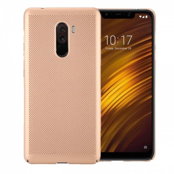 Gold Hard back Honeycomb for Xiaomi Pocophone F1