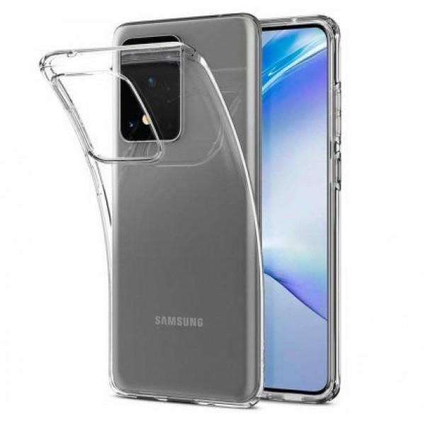 Ultra Thin TPU Silicone Case for Samsung Galaxy S20 Ultra / G988
