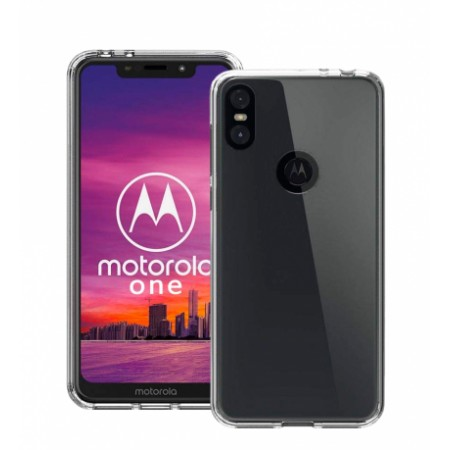 NORDIC Ultra Thin TPU Silicone Case  for Motorola One (P30 Play)