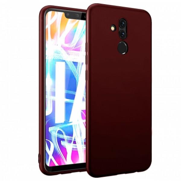 Ultra Thin TPU Silicone Case UNI for Huawei Mate 20 Lite SNE-LX1 - dark purple matt