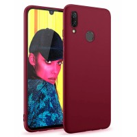Ultra Thin TPU Silicone Case UNI for Huawei P smart 2019 POT-LX1 - purple matt