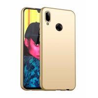 Ultra Thin TPU Silicone Case UNI for Huawei P smart 2019 POT-LX1 - gold matt
