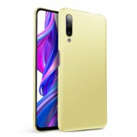 Ultra Thin TPU Silicone Case UNI for Huawei P smart Pro 2019 - gold matt