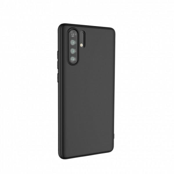 Ultra Thin TPU Silicone Case UNI for Huawei P30 Pro - black matt